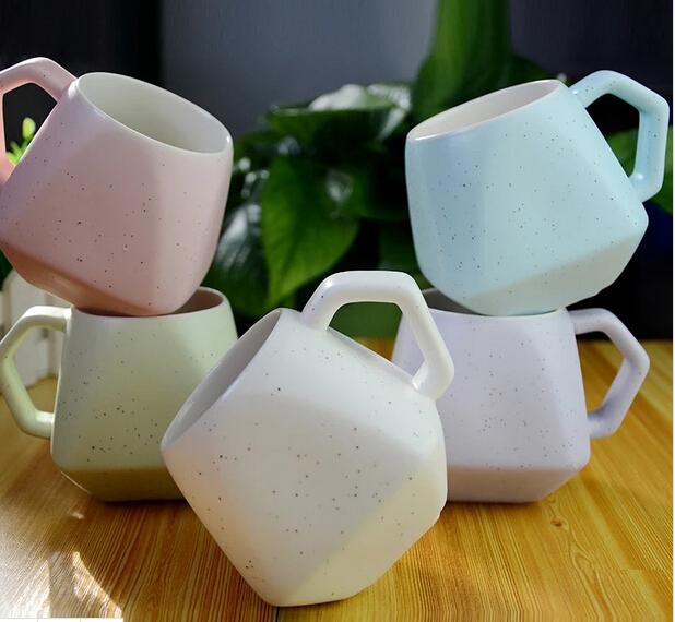 Discoloring, Thermostability Irregular Shape Mug