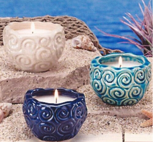 luxury Natural Scented Glass Jar Candle