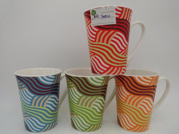 11 Oz Shiny Colorful Ceramic Mug