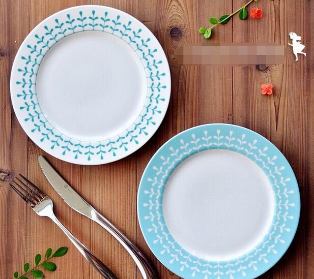 Cheap Dinner Plate With Glazed Edge