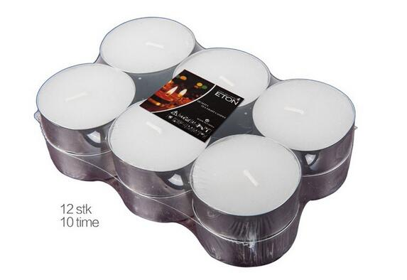 Competitive price white tealight candles in bulk