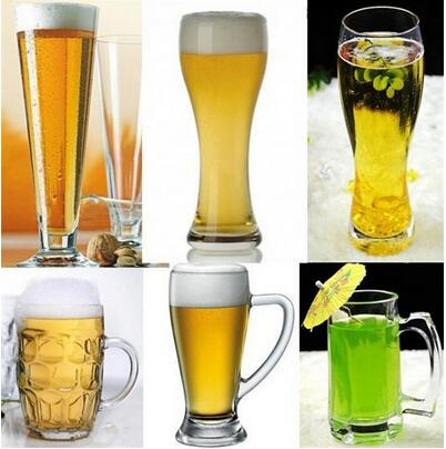 Large Capacity Various Style Glass Beer Cup