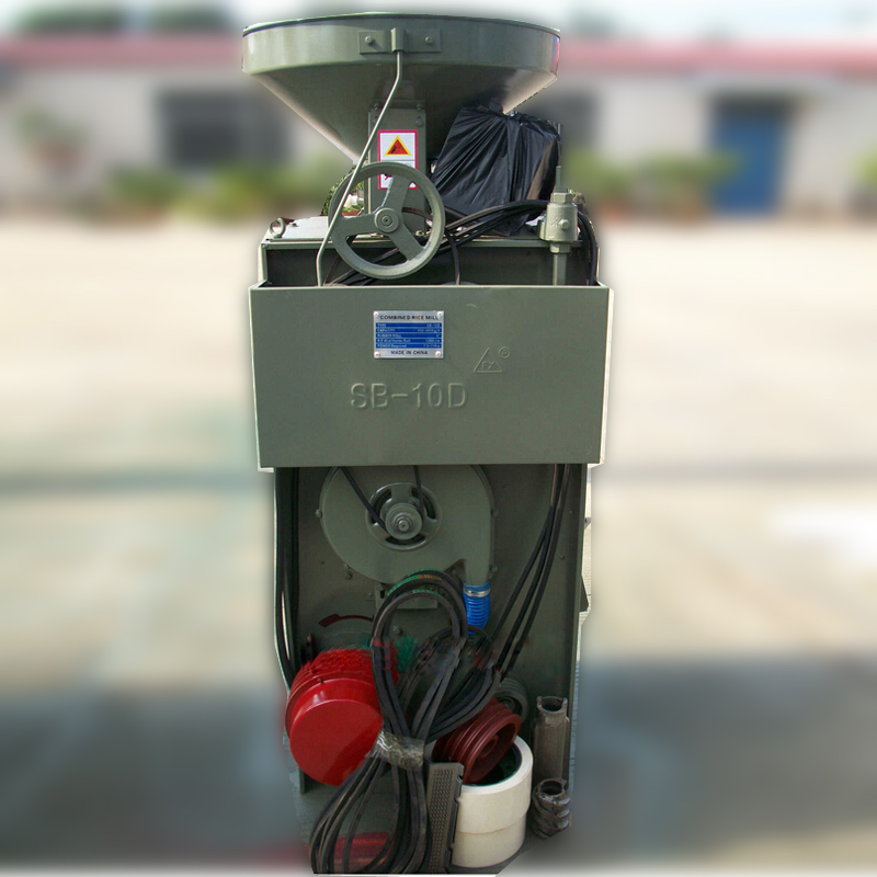 Series Motor or Diesel Engine Small Scale Rice Mill