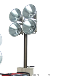 powerful work light portable lighting tower generator flood light tower