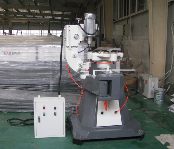 Manufacturer supply float glass shaped edging machine