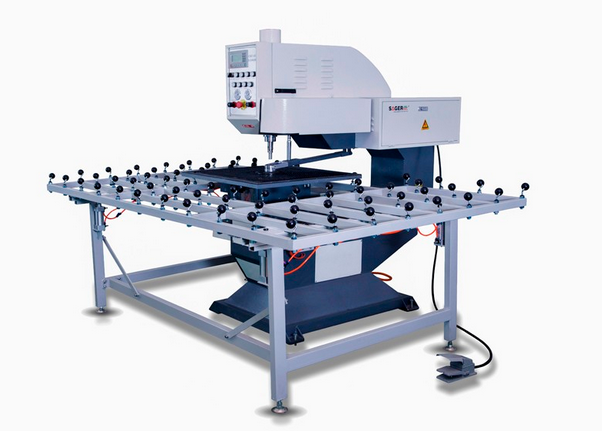manufacturer supply automatic drilling machine for glass