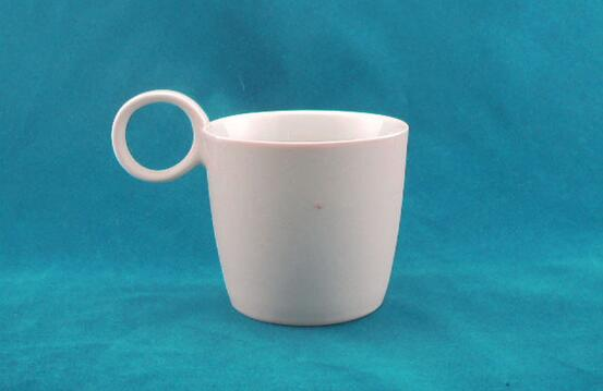 Promotional Ceramic Mug With Oval Or Round Handle
