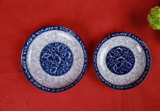 Manufacturer Hot Sale Color Glazed Plate
