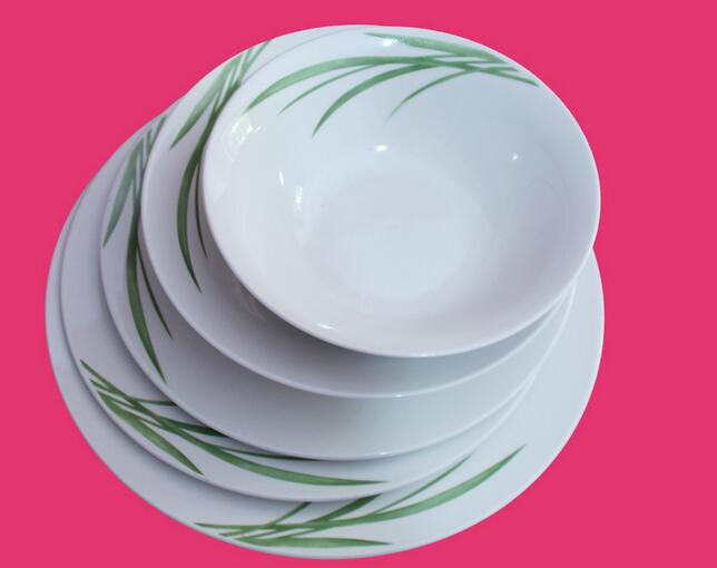 Fresh And Natural Style Ceramic Plate