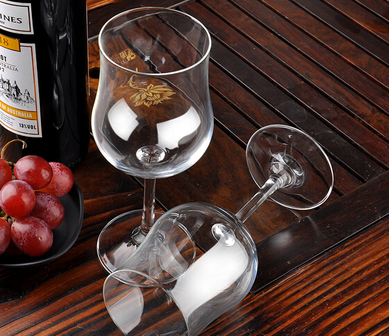 Personalised Cheap Stocked Red Wine Glass