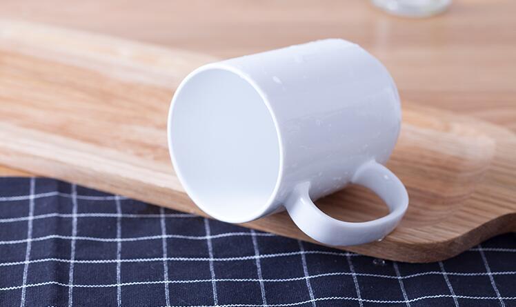 OEM Plain White Glazed Coffee Cups