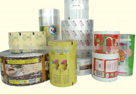 Best quality perforated food packaging metalized opp film/ food grade plastic film roll