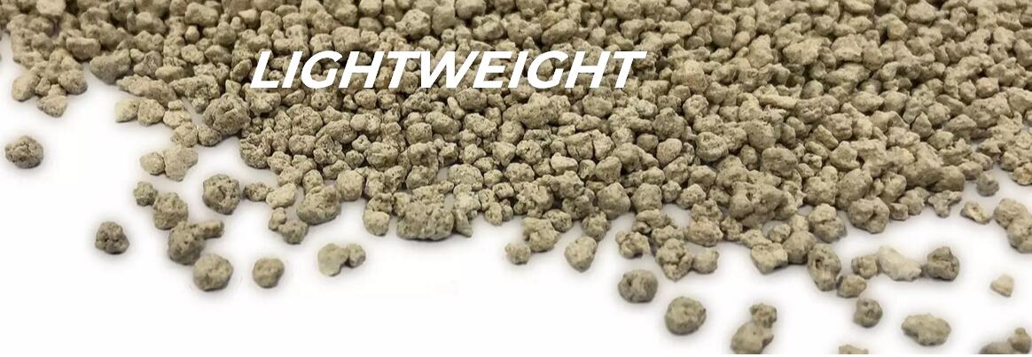 LIGHTWEIGHT bentonite cat litter