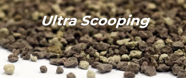 ULTRA SCOOPING cat litter