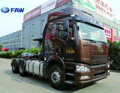 FAW 6*4 TRACTOR HEAD TRANSPORTATION SEMI-TRAILER OVER DRIVE (O/D) 460PS