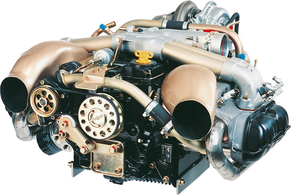 Limbach L2400DT Turbo Charged Avaiation Engine Limbach L2400DT Aircraft Engine UAV Engine