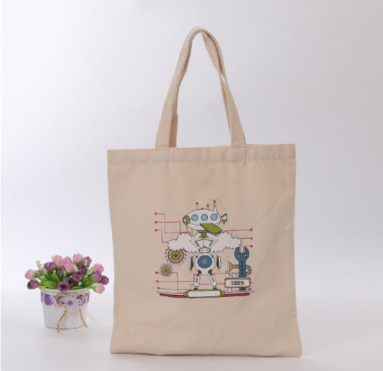 MANUFACTURER NATURAL RECYCLED CHEAP SHOPPING COTTON CANVAS BAG