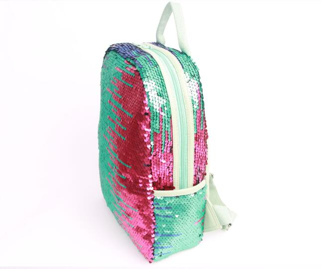 CUSTOM MAGIC SEQUIN SPORTS OUTDOOR CAMPING TRAVELLING BACKPACK