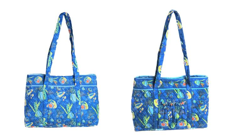 COTTON FULL PRINTING FOLDABLE SHOPPING BAG