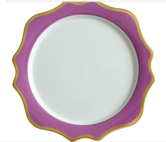 13 inches western creative ceramic tableware