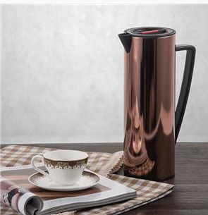 EVERICH 118096 Stainless Steel Vacuum Coffee Pot Thermo Flask