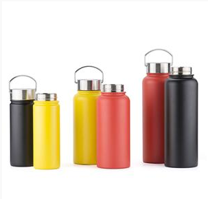 EVERICH 25205 Double Wall Stainless Steel Vacuum Insulated Water Bottle Thermos Cup