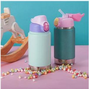 EVERICH 25203 D/W Stainless Steel Kid's Vaccum Insulation Water Bottle