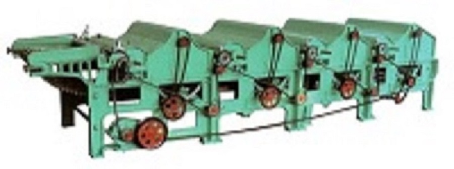 Four Roller Textile Waste Cleaning Machine