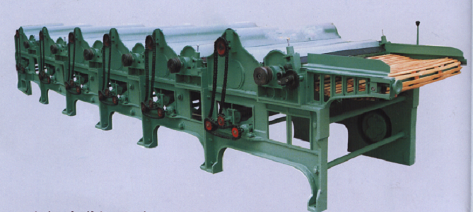 Six Roller Textile Waste Cleaning Machine