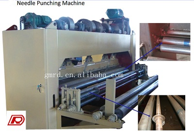 needle punching M/C techinical description of equipments