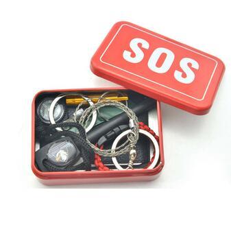 new arrivals camping accessories survival kit outdoor self defense SOS survival gear