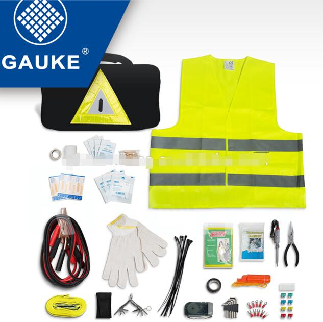 Outdoor Emergency Smart Roadside Car Kit With Hardware Tools