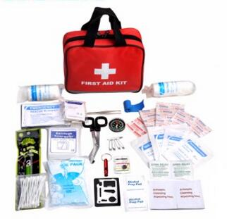 High quality Travel Custom-made FDA CE Approved first aid disaster kit with handle