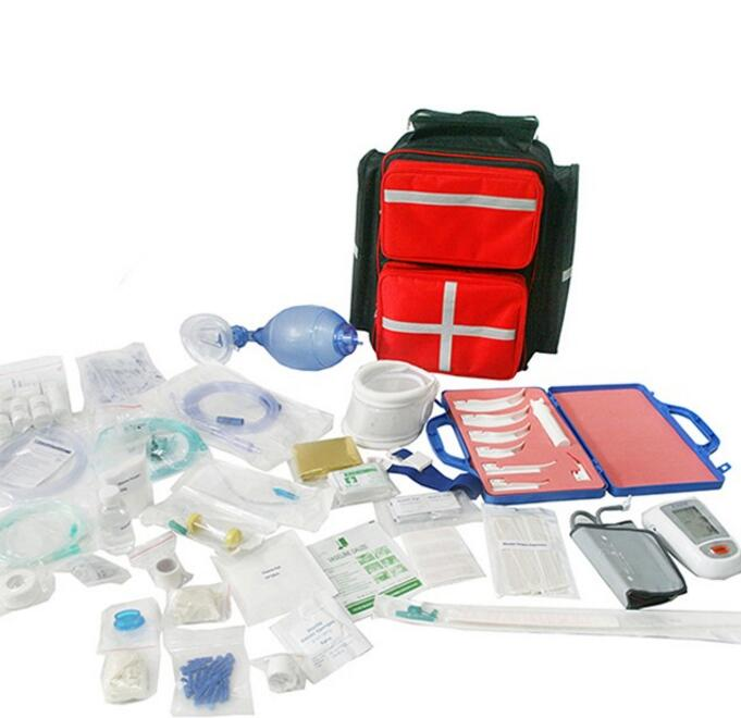 China Wholesale Disaster Survival First Aid Kit Emergency Survival Backpack