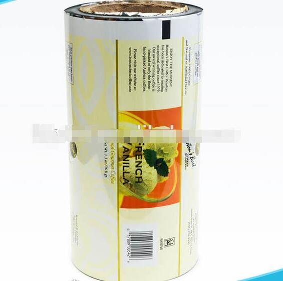 Factory Direct Custom Printing Laminated Food Packaging Plastic Roll Film