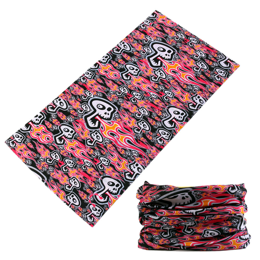Top selling multifunctional seamless flag bandana for winter for sale