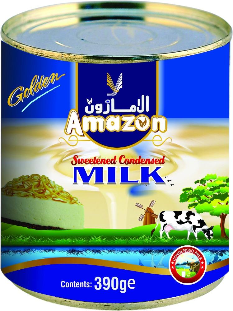 Amazon Golden Sweetened Condensed Milk for sale