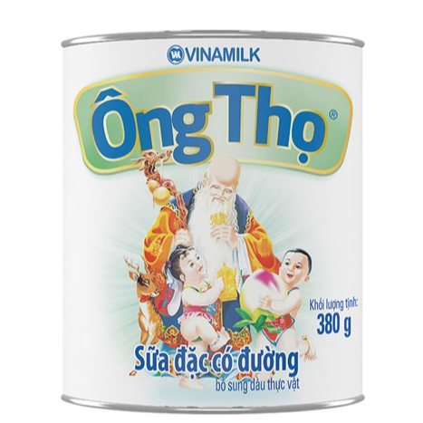 ONG THO CONDENSED MILK (WHITE LABEL) 380g foe sale