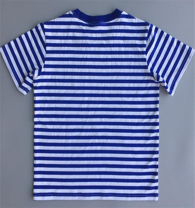 Man Custom Next Level Striped T-shirt for sale