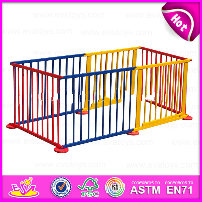 2015 hot wooden outside folding playpen baby,Round or Square luxury baby playpen,High quality pet playpen For Sale