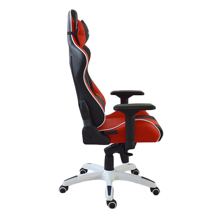 High Back Racing Game Mesh Metal  Frame PU Leather Swivel Office Computer Chair sale
