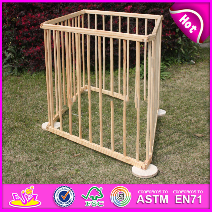2015 New outlets wooden outside folding baby playpen,Round or Square luxury baby playpen,large playpen for babies For Sale
