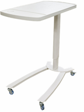 BT-AT001 ABS top board Hospital overbed bedside table