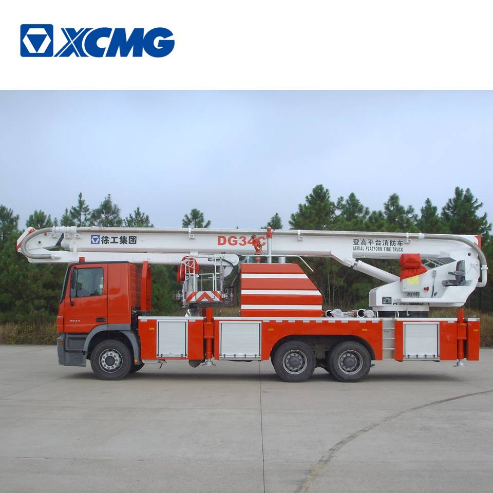 XCMG original manufacturer DG34C mini remote control fire truck for sale