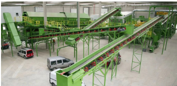factory Municipal solid waste to energy sorting recycling plant with CE ISO for Sale