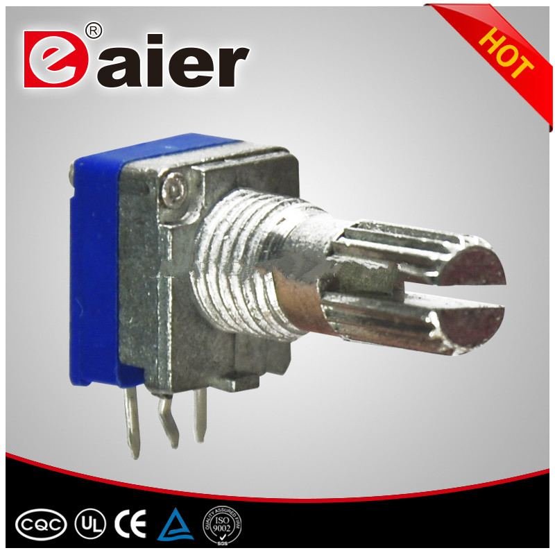 1K 5K 10K 20K 50K 100K 200K 250K 500K linear alps guitar rotary potentiometer with push push switch for sale