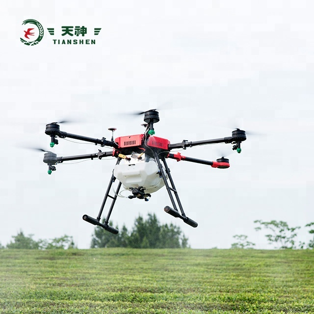 Pesticide spraying payload 12KG electric helicopter UAV