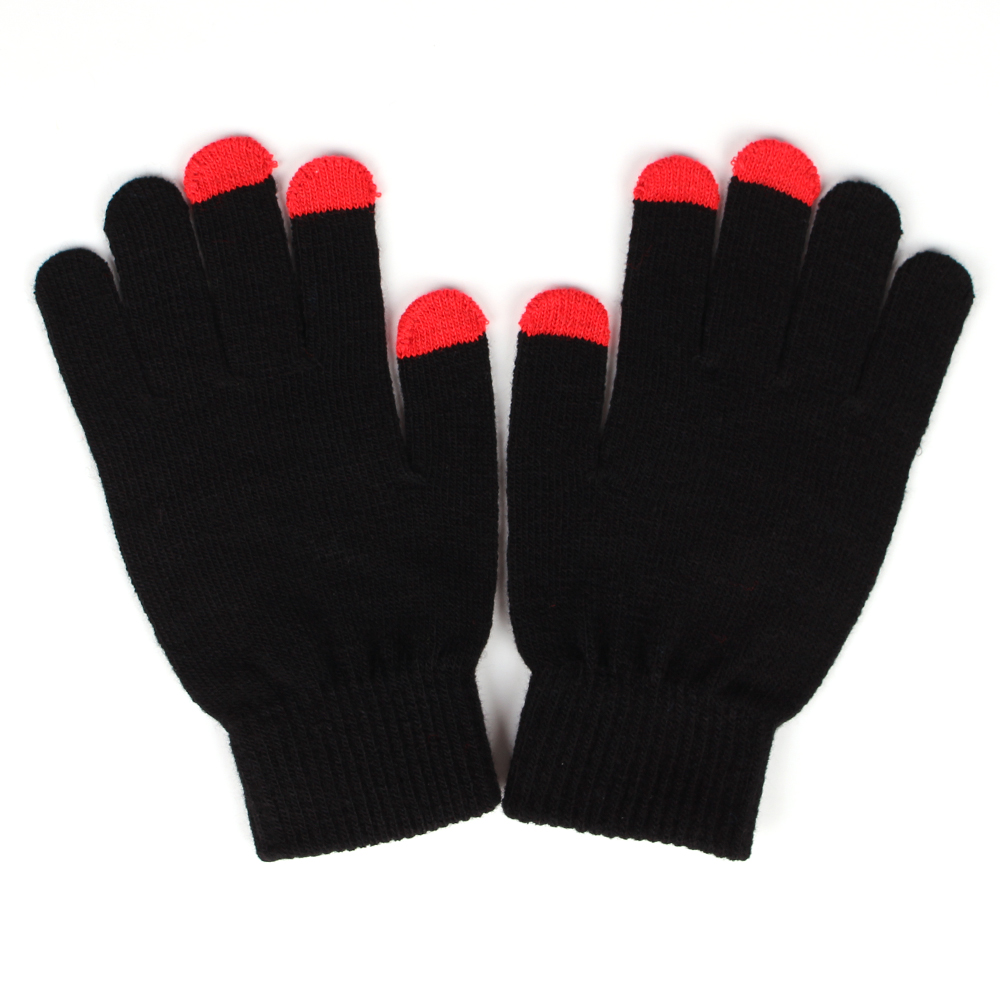 Cheap Custom Acrylic Mittens Knitted Winter Gloves for sale