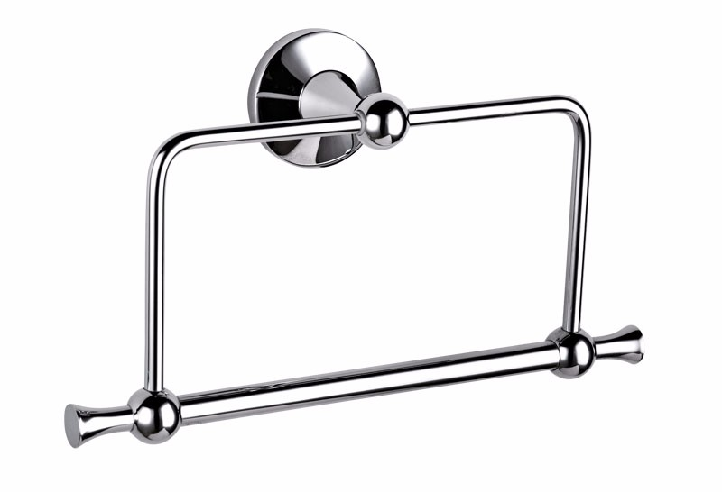 NEW STAR Stainless Steel body Chrome Finish Towel Ring for sale