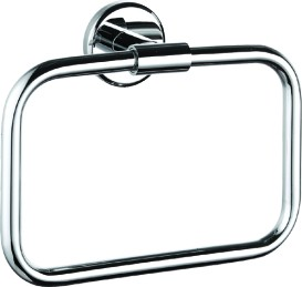 Brass wall square holder towel ring for sale